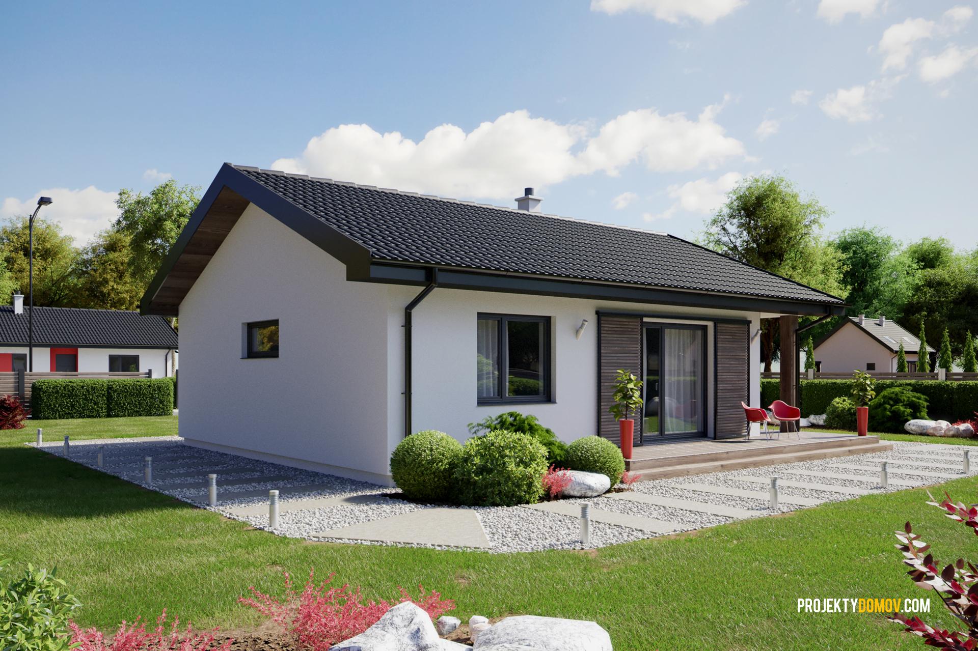 Projekty Domov Najmenší Dom Fresh
