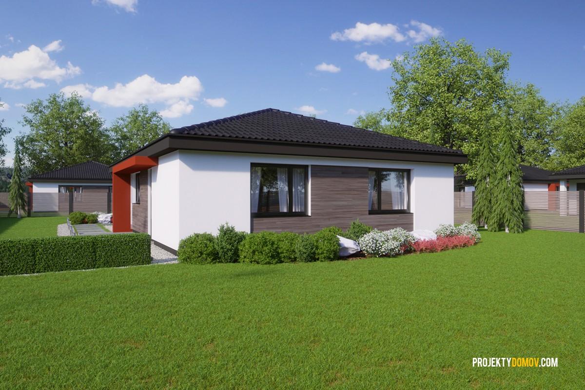 Najpredávanejšie Domy Projekt Domu Bungalov Flip