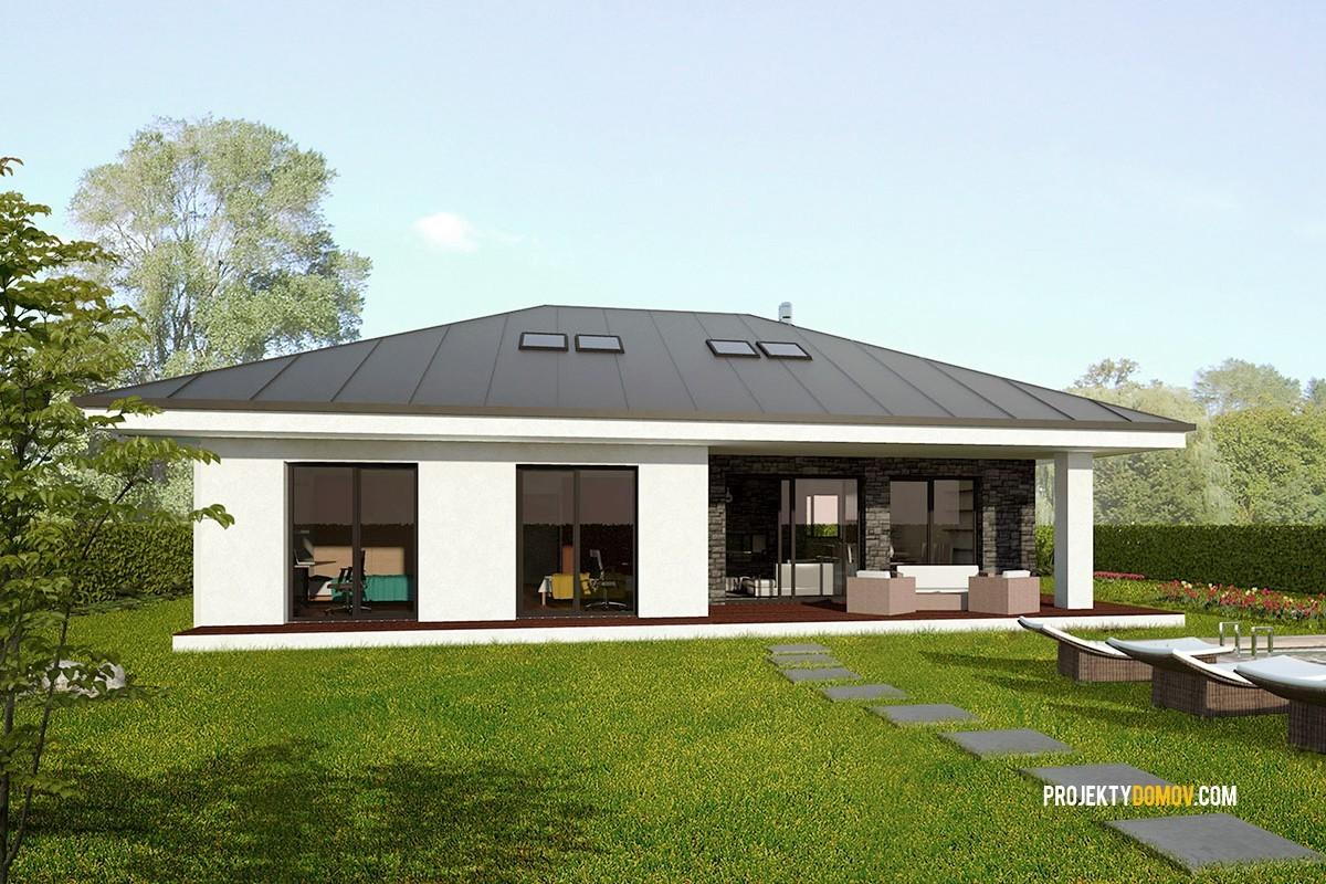 Projekty rodinných domov projekt domu eko170