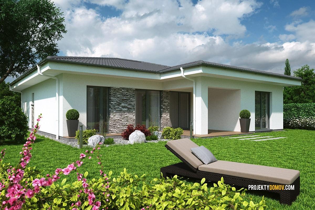 Projekty Rodinných Domov Projekt Domu V Tvare L Elko 110