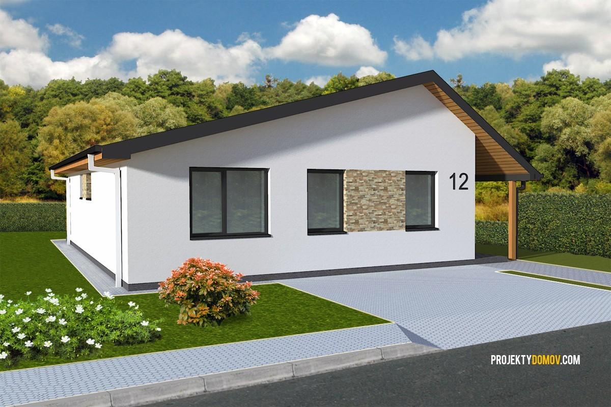 Projekty rodinných domov - projekt domu like