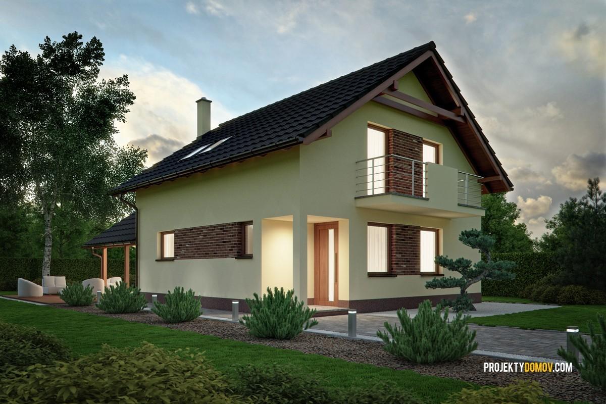 Projekty Rodinných Domov Projekt Domu Rd102